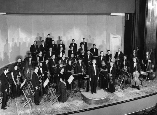 Victor Desarzens homme engagé; anniversaire des concerts populaires.