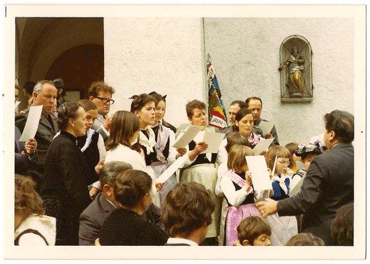 Fête-Dieu 1972 à Grimentz - 1