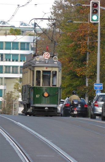 Genève, tram nostalgie