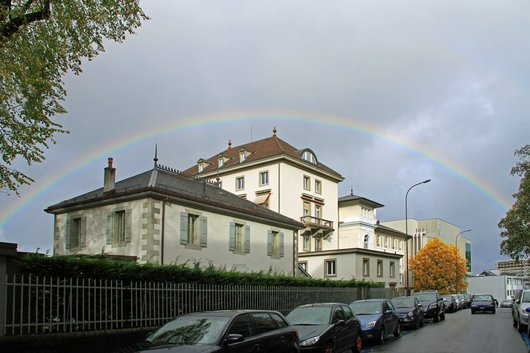 Clinique de La Colline, avenue Beau-Séjour, Genève