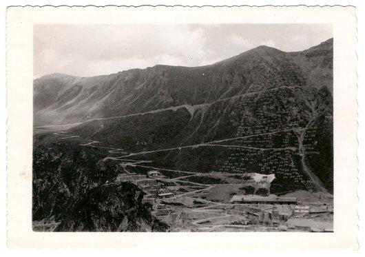 Construction du Barrage de Moiry - 2