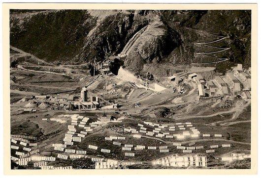 Construction du Barrage de Moiry - 4
