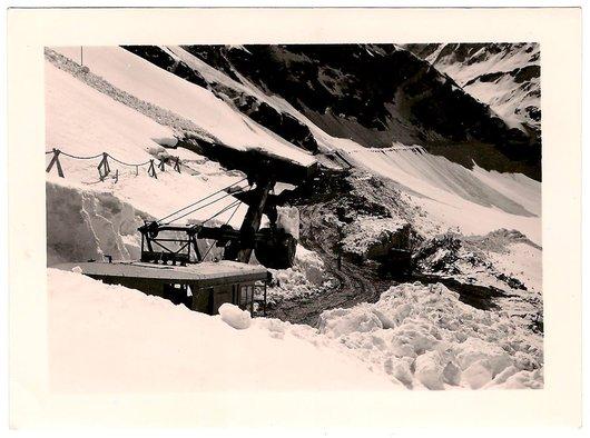 Construction du Barrage de Moiry - 5