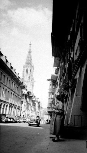 Berne Le clocher de la Cathédrale