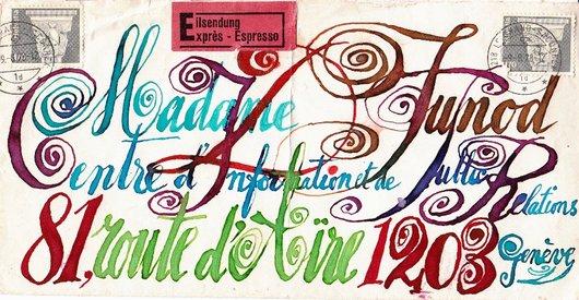 Enveloppe Gilbert Koull 1978