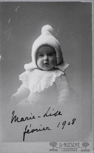 Marie-Lise Gilliard-Moser par Georges Nitsche