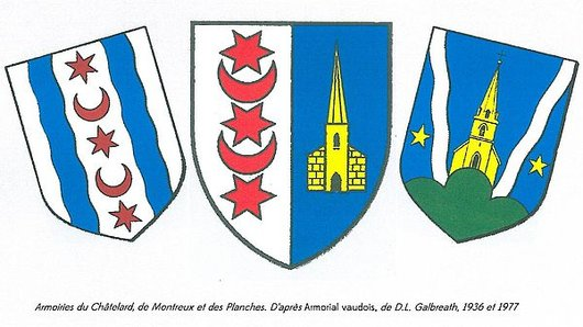 Armoiries de la Commune de Montreux