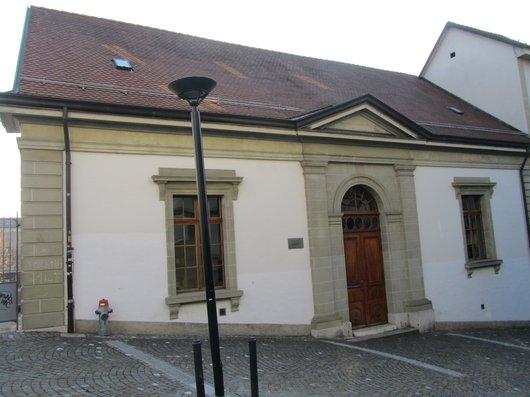 Ancienne église et cure de la Mercerie Lausanne