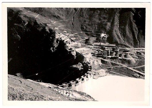 Construction du Barrage de Moiry - 3