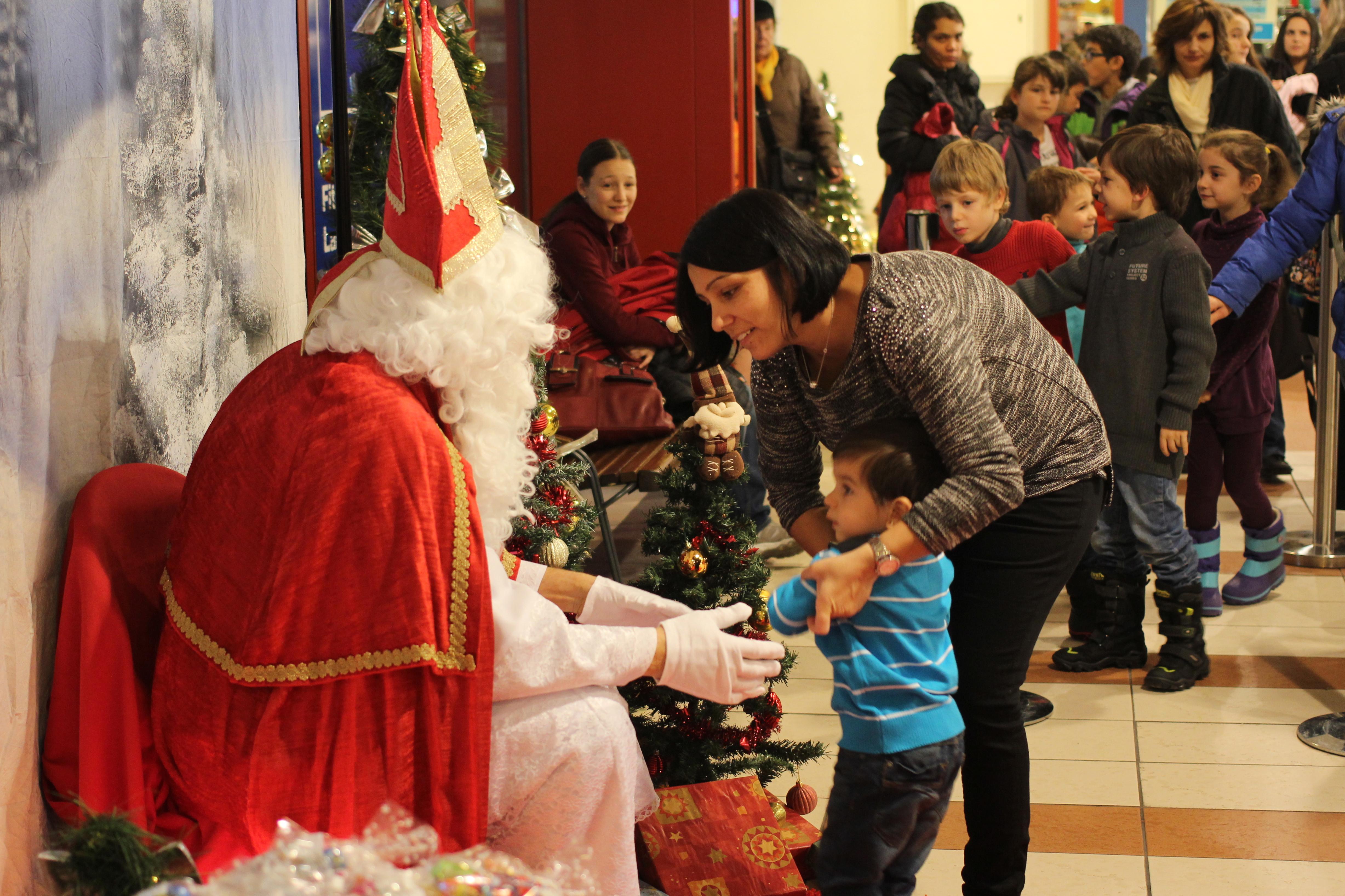 Le Père Noël qui fait peur.