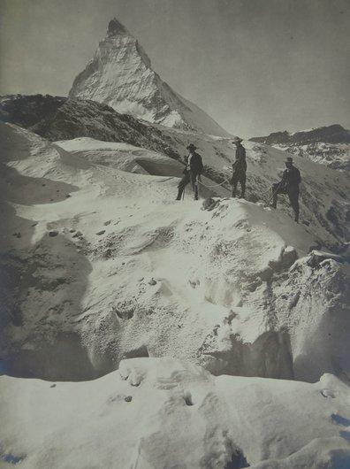 Au glacier du Gorner