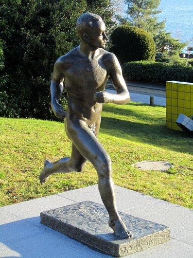 Lausanne jardins musée olympique