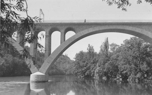 Genève, Rhône, Viaduc de la Jonction