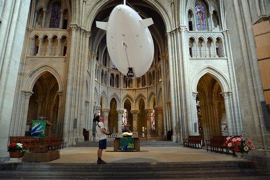 """Exposition """"Gros Nez"""" à la Cathédrale de Lausanne"""