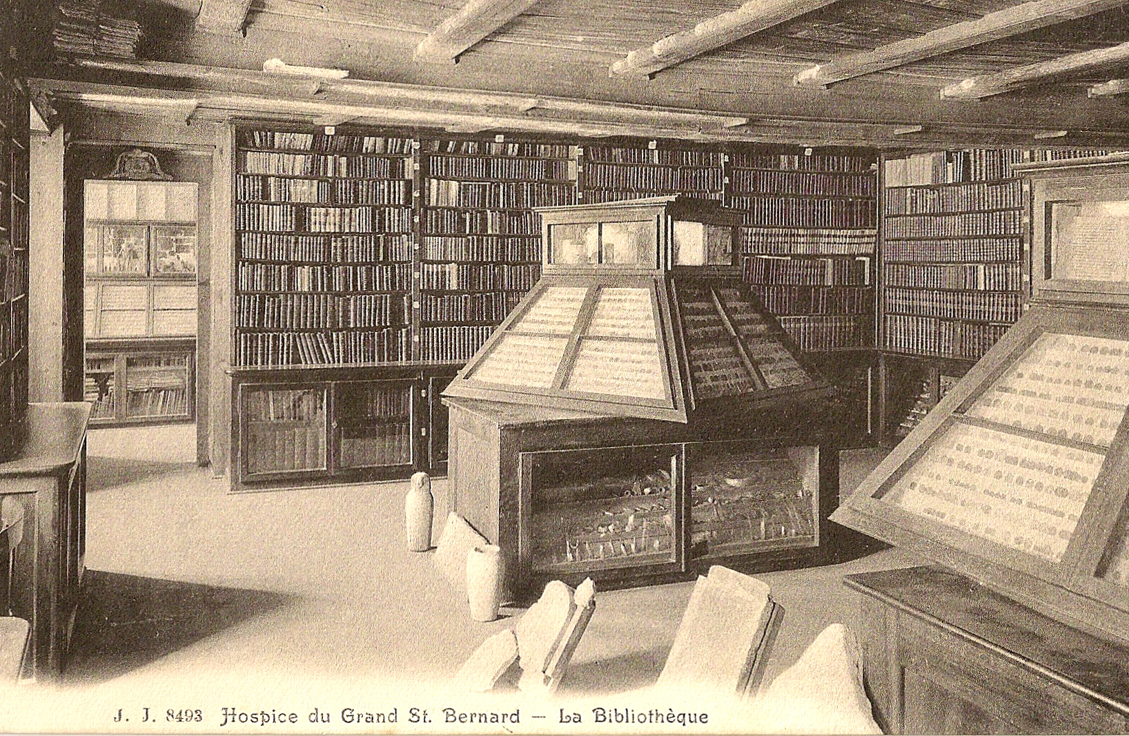 La Bibliothèque - Hospice du Grand-Saint-Bernard