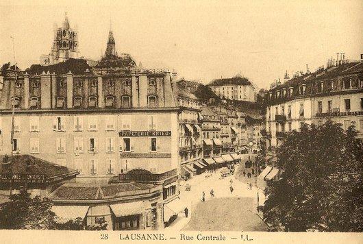 Rue Centrale - Lausanne
