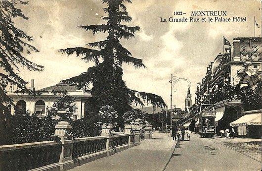 Palace Hôtel et Pavillon des sports - Montreux