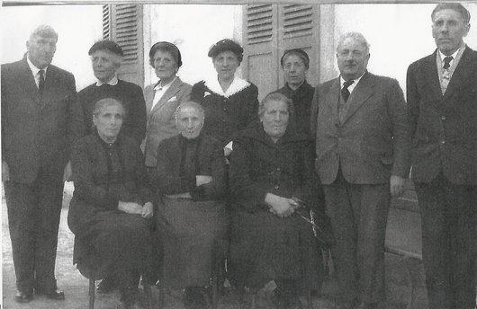 Famille Genoud de Mission