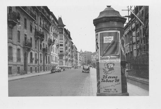Genève, Rue de la Prairie