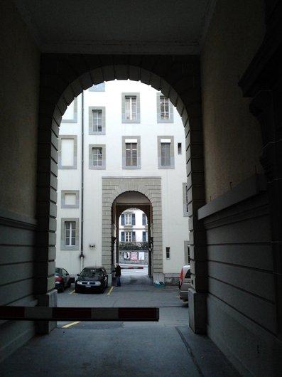 Lausanne passage entre  av. Ch. Monnard et Georgette