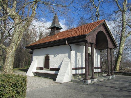 Lausanne Chapelle Signal de Sauvabelin
