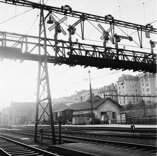 Gare de Lausanne - Ancien dépôt des locomotives
