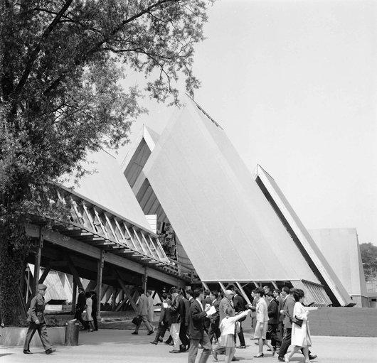 «La Voie Suisse» Partie générale de l'Expo 64