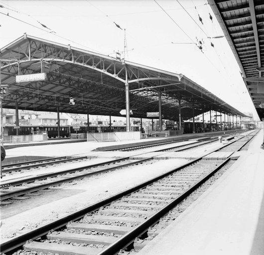 La marquise de la gare de Lausanne