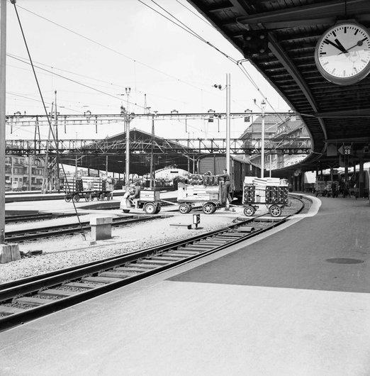 Acheminement de marchandises - Gare de Lausanne