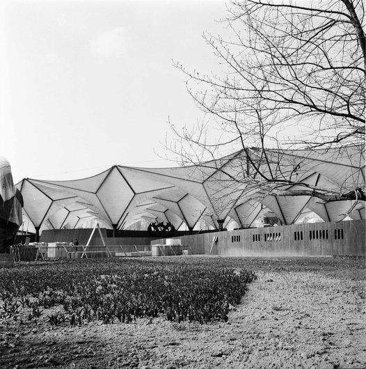 Pavillon secteur «Les Echanges» - Expo 64