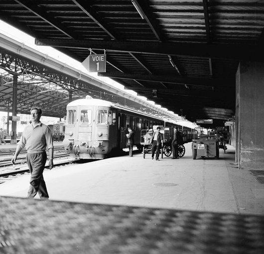 Quai 1 - Gare de Lausanne