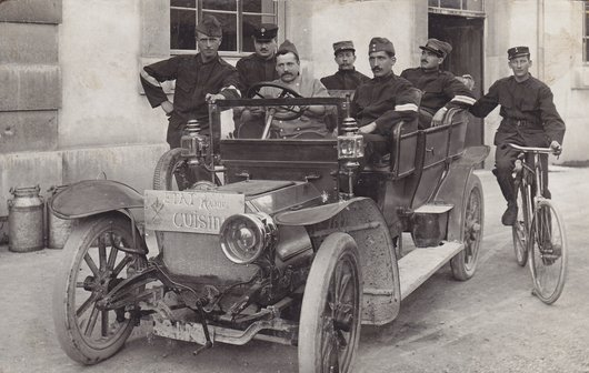 État Major Cuisine 1916