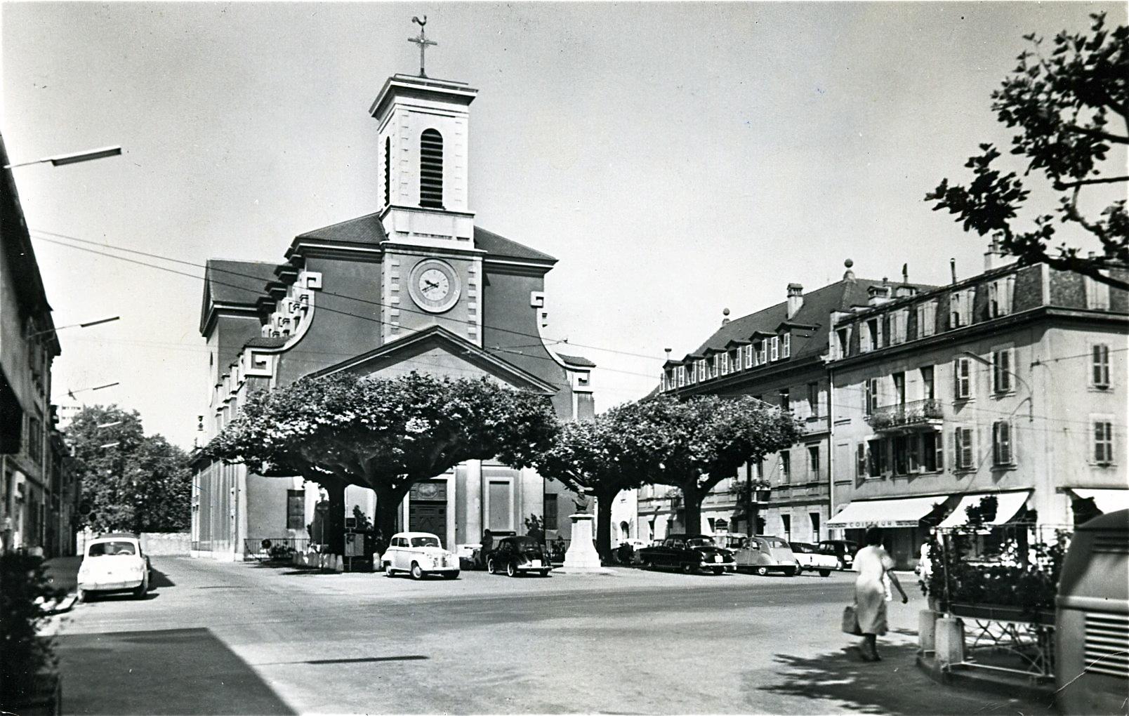 Carouge, église Sainte-Croix