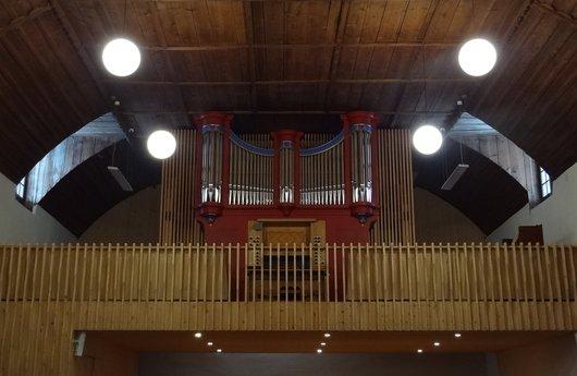 Les orgues du temple de Château-d'Oex