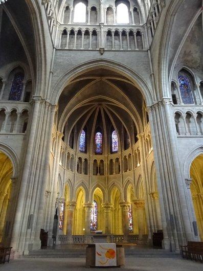 Cathédrale de Lausanne - Le choeur