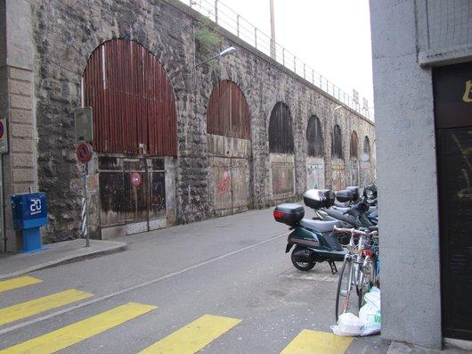Lausanne passage des Saugettes