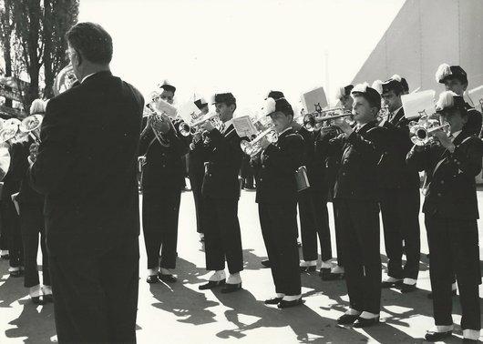 Fanfare des Collèges de Lausanne - Cérémonie d'inauguration de l'Expo 64