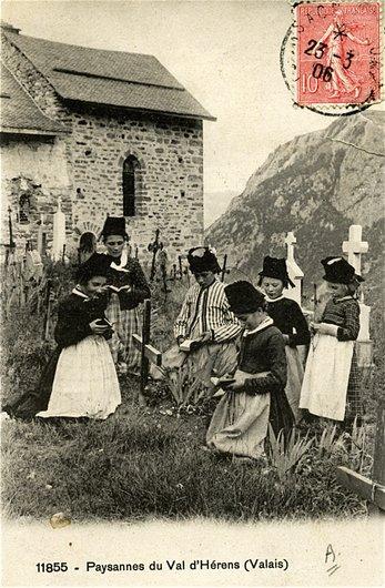 Val d'Hérens, la prière