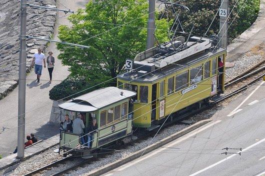 Anciens Tramway à Neuchâtel
