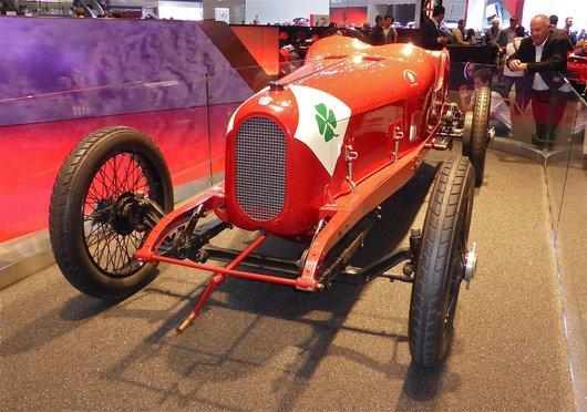 Alfa Roméo, la Targa Florio