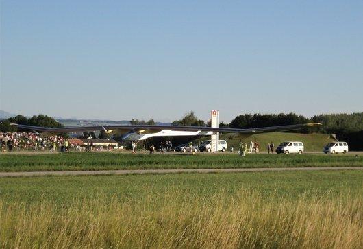 Solar Impulse est de retour du Bourget