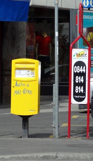 Boîte aux lettres urbaine