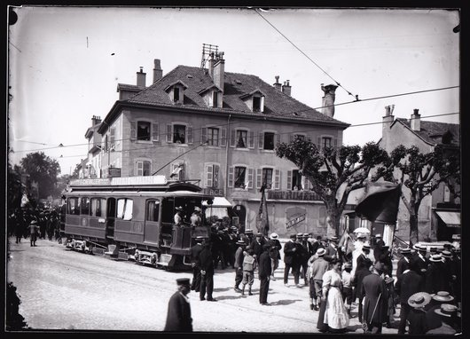 Carouge, Place du Marché 1906
