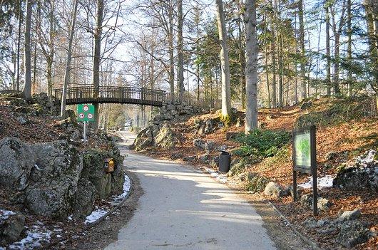Entrée du parc zoologique du Bois du Petit Château à La Chaux-de-Fonds