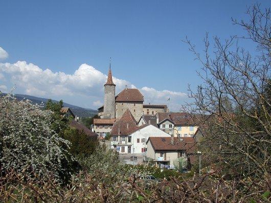Le château de Boudry (Ne)