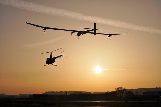 2ème vol d'essai de Solar Impulse