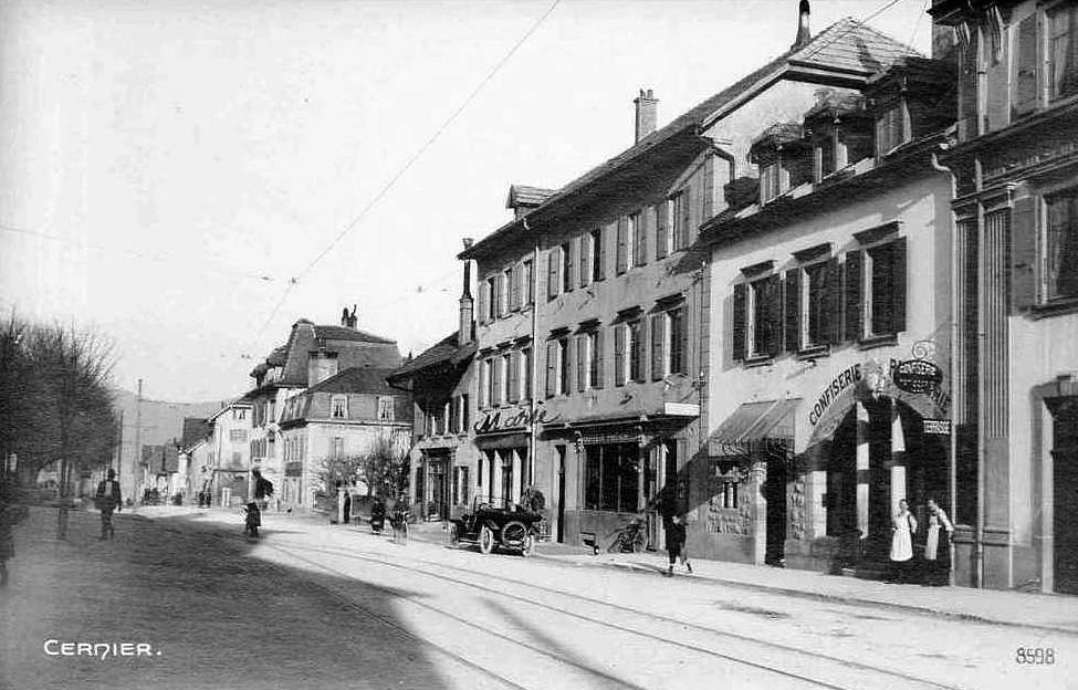 Cernier Rue Frédéric Soguel