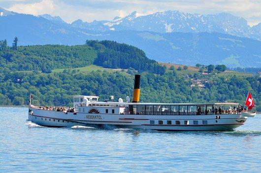 Le Vapeur SS Neuchâtel reprend du service