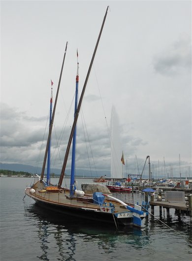 La Neptune, barque du Léman
