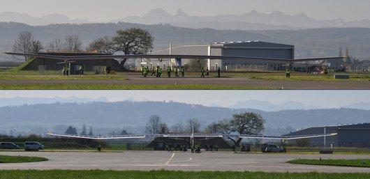 Solarimpulse - 63m d'envergure